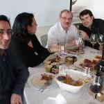 Rafael Navarro, los Prada y Pablo Ossorio