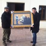 El cuadro de los músicos, Pablo Ossorio y Paco Alonso