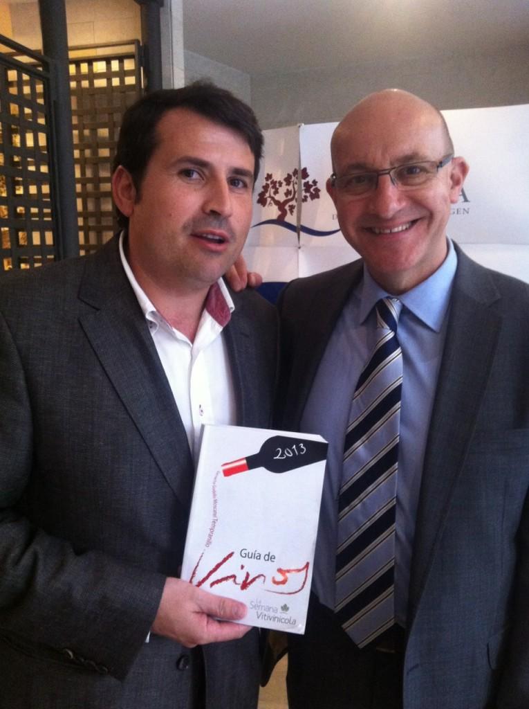 Pablo Ossorio y Jesús Artajona, premiados por la SEVI 2013