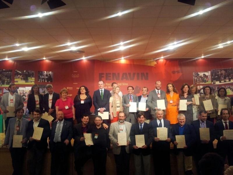 Premiados en FENAVIN 2013 por la Asociación Española de Periodistas y Escritores del Vino