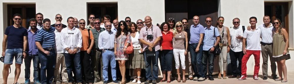 Uno de los encuentros más concurridos de bloggers, periodistas y twiteros que se han celebrado en HispanoSuizas.